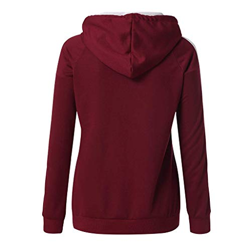 Felpe Felpe Walker Slim Trend Pullover con Red01 Stampe Tops lunghe sportive maniche Felpa Casual Alan wZdW5q0w