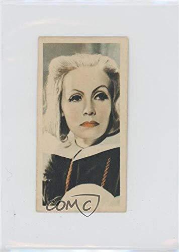 (Greta Garbo (Trading Card) 1934 Godfrey Phillips Film Stars - Tobacco [Base] #10)