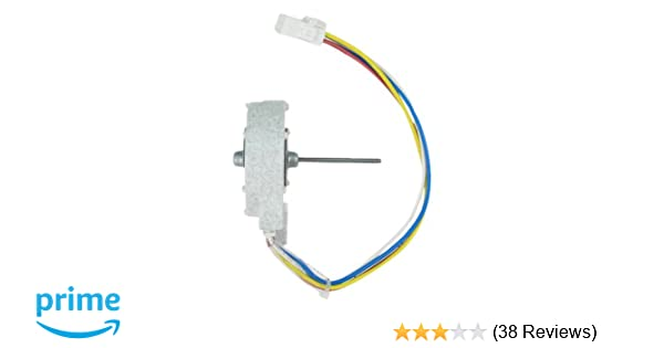 GE WR60X10209 Condenser Fan Motor for Refrigerator on