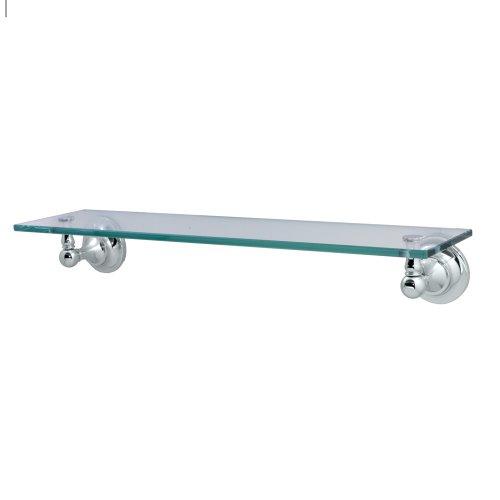 Gatco 4326 Tiara Glass Shelf, Chrome