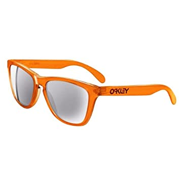 Oakley Frogskins Acid Orange Grey Sunglasses 24-252