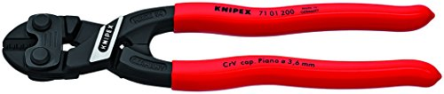 KNIPEX Tools 71 01 200 SBA High Leverage Cobolt Cutters, 10-Inch