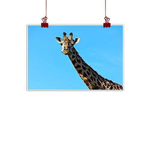 duommhome Modern Oil Paintings African Giraffes in The Savannah Bedroom Bedside Painting 35