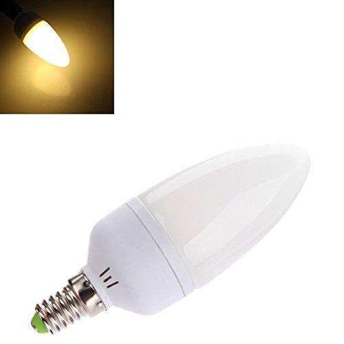 Global E14 2.5w blanco cálido 12 smd5050 LED vela bombilla 220v: Amazon.es: Iluminación