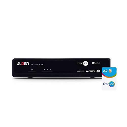 ALDEN SATMATIC-HD Receptor satélite + tarjeta Fransat ...