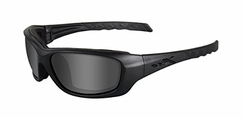 Wiley X CCGRA01 WX Gravity Collection Black Ops Lunettes de protection Noir mat M-L