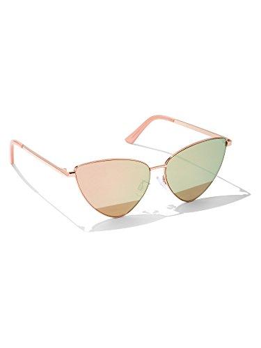New York & Co. Women's Goldtone Cat-Eye Sunglasses 0 - New Company Sunglasses York And