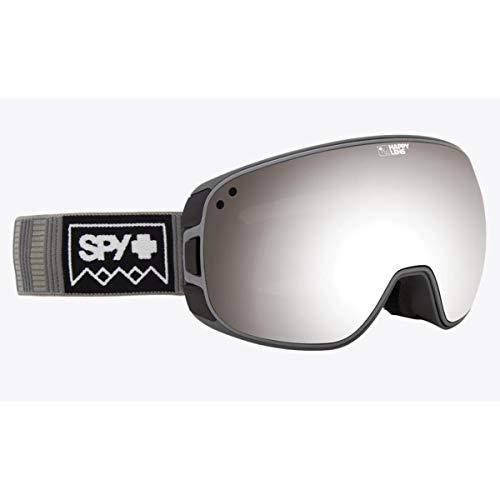 Spy Optic Unisex Bravo Deep Winter Gray/Happy Gray Green/Silver Sepctra/Happy Yellow/Lu One Size (Spy Optic Marshall Goggles Lens)