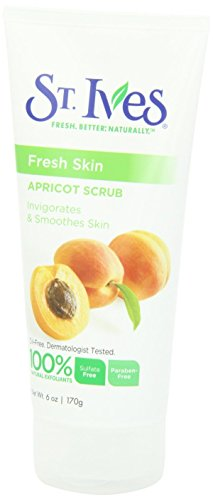 St. Ives Face Scrub Apricot 6 oz(Pack of 4)