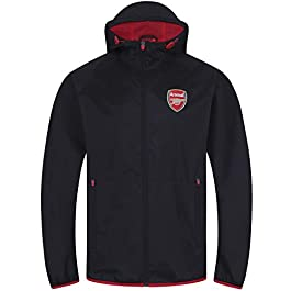 Arsenal FC Official Football Gift Mens Shower Jacket Windbreaker