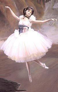 Lighter Than Air Porcelain Barbie Doll - Prima Ballerina Collection