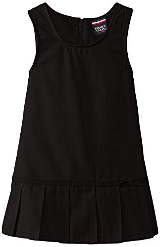 Pleated Jumper Dress - 1