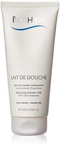 Biotherm Lait De Douche Cleansing Shower Milk for Unisex, 6.76 Ounce