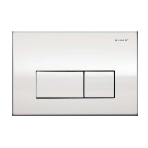 Geberit 115.260.21.1 Kappa50 Dual-Flush Actuator, Polished Chrome