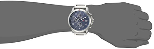 Tommy Hilfiger Men's 'Sport' Quartz Stainless Steel Casual Watch, Color:Silver-Toned (Model: 1791360)