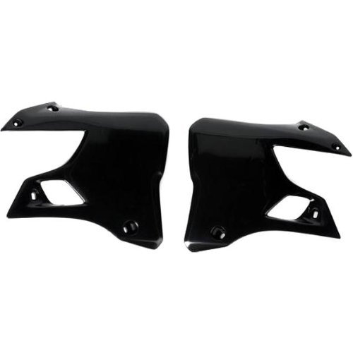 (Ufo Plastic s Radiator Cover Black for Suzuki RM 125 250 93-95)