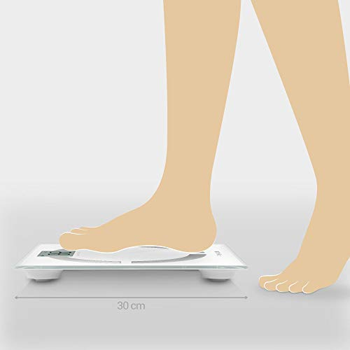 Amazon.com: Medisana Analysewaage BS 444 connect Wagebereich (max.)=180 kg white by Medisana: Health & Personal Care