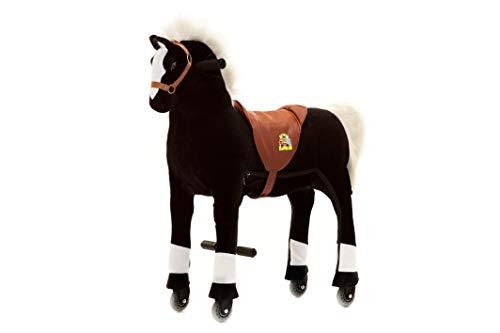 animal riding ZRP001M Horse Maharadscha,Size-Medium,Colour-Black