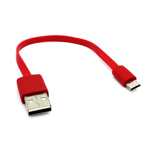 coiled usb cable red - 2