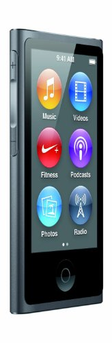 Apple iPod nano 16GB Space Gray (7th Generation) (Refurbished) (Apple Watch For Ipod Touch)
