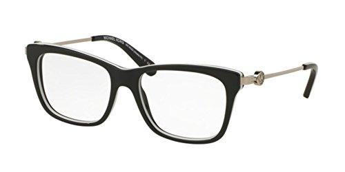 Michael Kors Women's MK 8022 3129 Black - Women Kors Eyeglasses Michael For