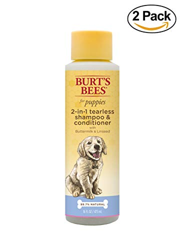 All-Natural Tearless 2 In 1 Shampoo & Conditioner by Burt's Bees for Pets