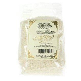 COCONUT, SHREDDED OG 25LB by Gold Mine Natural Food Co.
