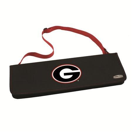 NCAA Georgia Bulldogs Metro 3-Piece BBQ Tool Set in Carry Case