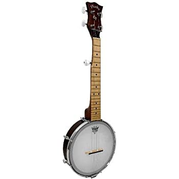 Amazon com: Dean Backwoods Mini Travel Banjo: Musical Instruments