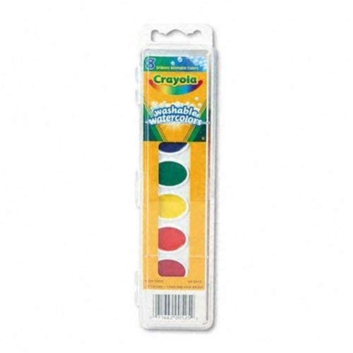 Crayola Washable Watercolors 8 ea (Pack of 20) -