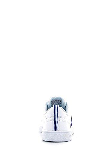 adidas Vs Advantage K, Zapatillas de Deporte Unisex Niños, Blanco (Ftwbla / Azul / Escarl), 35.5 EU Blanco (Ftwbla / Azul / Escarl)