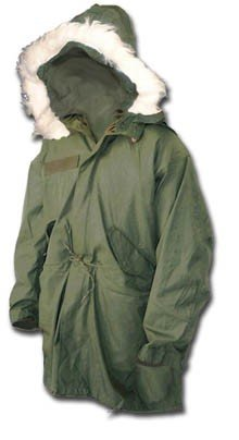 Genuine USA Forces Army Style Issue Fishtail Parka: Amazon.co.uk ...