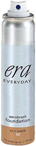 ERA Everyday Aerobrush Foundation Makeup, R8 Rich Amber, 2.25 ()