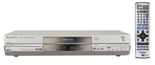 Panasonic DMRE85HS Progressive-Scan DVD Player/Recorder with 120 GB Hard Drive Recording