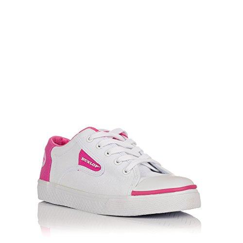 Baskets fuchsia Blanc Pour Femme 35000 Dunlop S1w08