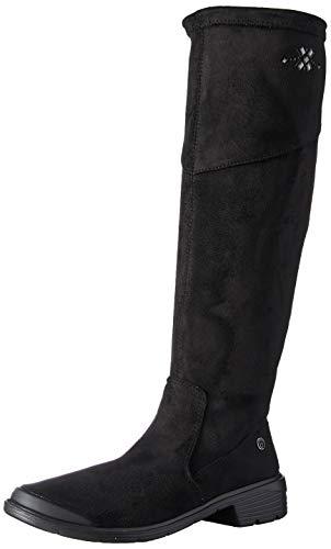 BZees Women's Boomerang Knee High Boot, Black, 10 M M US