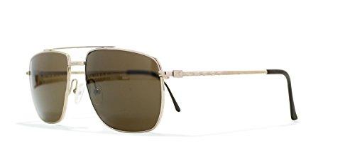 Burberrys 8825 000 Gold Vintage Sunglasses Aviator For - Sunglasses Burberry Vintage