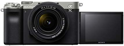 31Z4CXPYLoL. AC  - Sony Alpha 7C Full-Frame Compact Mirrorless Camera Kit - Silver (ILCE7CL/S)
