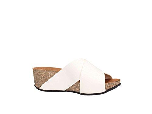 Casual Mujer Sandal Blanco 59l6 Frau T587w
