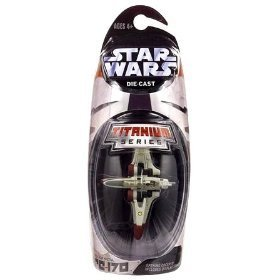 - Star Wars Titanium Series Die Cast Metal Arc-170 with Opening Cockpit