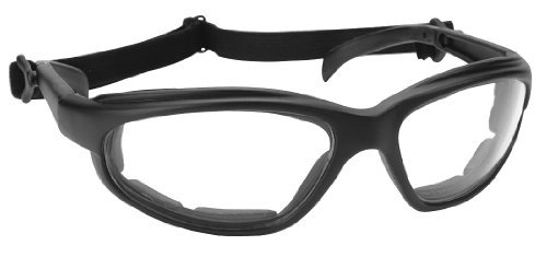 Pacific Coast Freedom Padded Sunglasses - One size fits most/Black w/ Clear by Pacific Coast