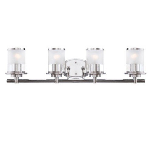 Transitional Two Light Mirror - Designers Fountain 6694-CH Vanity, 32 in. in