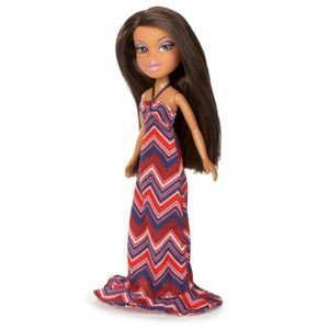 Bratz summer party outfit black fashion heels with paper doll doll not included Bratz fashion look and style doll