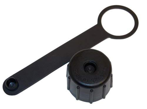 AVON M50 GAS MASK 1 OR 2 QUART CANTEEN CAP ADAPTER LID 8465-01-529-9800 JSGPM