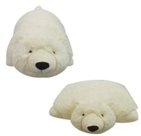Amazon Com Small Polar Bear Pet Cushion Animal Pillow Plush