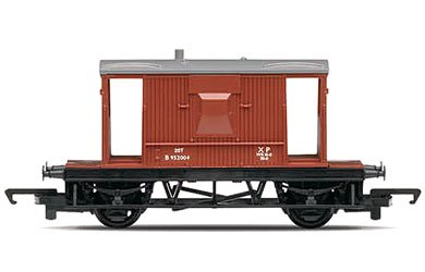 Hornby R6368 00 Gauge BR 20 Ton Brake Van Railroad Rolling Stock