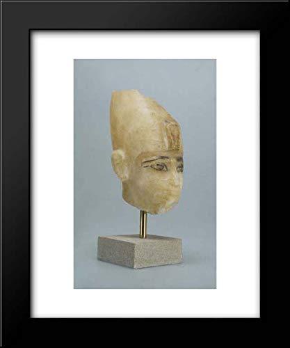 New Kingdom Period - 20x24 Framed Museum Art Print- Head of Amenhotep III