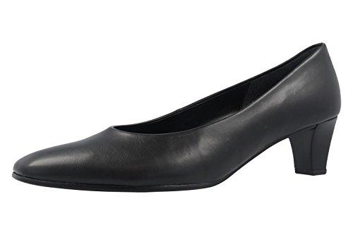 Gabor 65.180.87 - Zapatos de vestir de Material Sintético para mujer negro negro