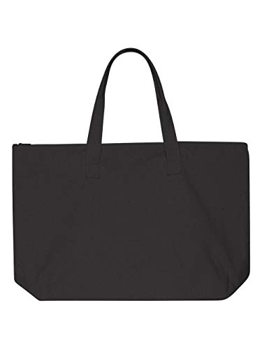 LB Amanda Canvas Tote (BLACK) (OS)
