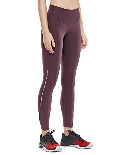 CRZ YOGA Women's Naked Feeling High Waist 7/8 Tight Yoga Pants Workout Leggings -25 Inches